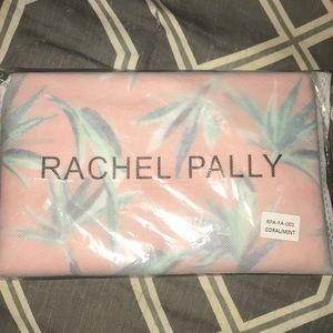 Rachel Pally Coral Mint Flora Reversible Clutch